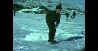 Children ice skating in Qaqortoq